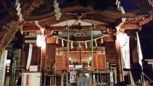 鳩森八幡神社 鳩森神社 新年 参拝